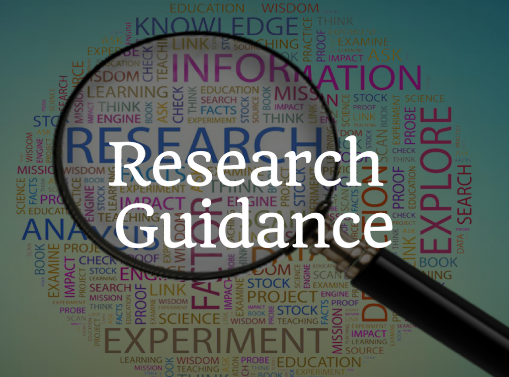 research related guidance