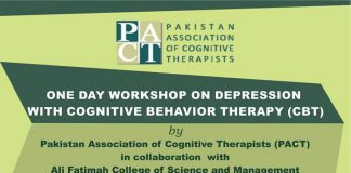 One Day Workshop on Depression with Cognitive Behavior Therapy (CBT)