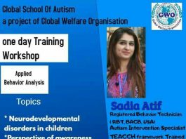 One Day Training Workshop on Applied Behavior Analysis