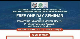 Free One Day Seminar on Promoting Indigenous Mental Health