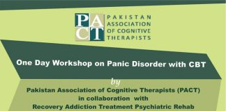 One Day Workshop on Panic Disorder with CBT