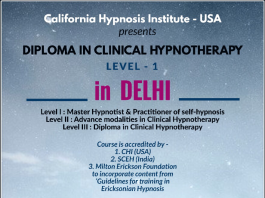 DIPLOMA IN CLINICAL HYPNOTHERAPY