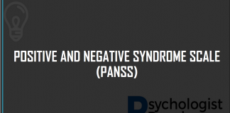 POSITIVE AND NEGATIVE SYNDROME SCALE (PANSS)