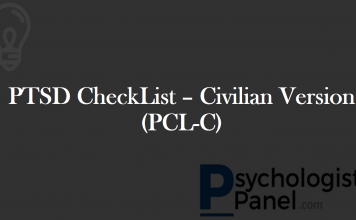 PTSD CheckList – Civilian Version (PCL-C)