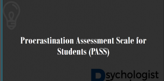 Procrastination Assessment Scale for Students (PASS)