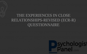 THE EXPERIENCES IN CLOSE RELATIONSHIPS-REVISED (ECR-R) QUESTIONNAIRE