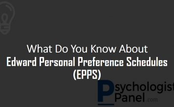 Edward Personal Preference Schedules