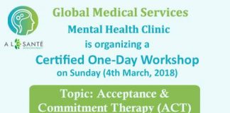 One-Day Workshop on Acceptance & Commitment Therapy