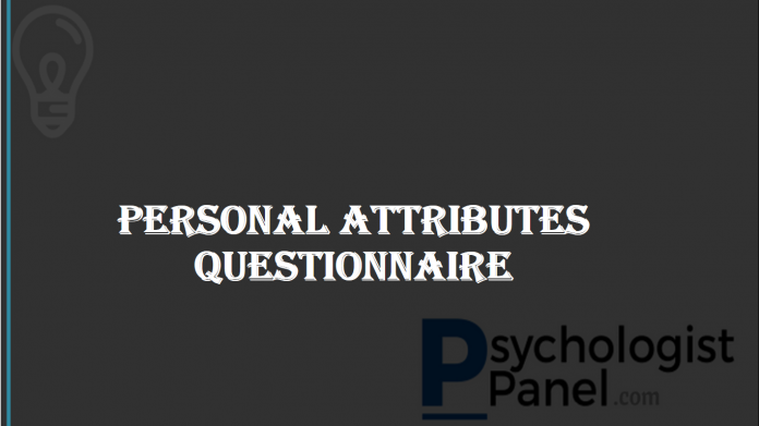 Personal Attributes Questionnaire