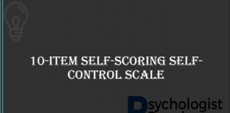 10-Item Self-Scoring Self-Control Scale
