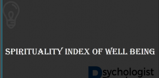 SPIRITUALITY INDEX OF WELL BEING