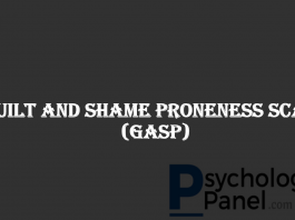 Guilt And Shame Proneness Scale (GASP)