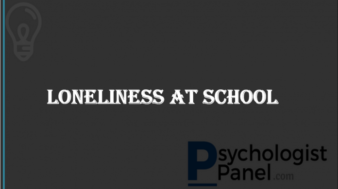 loneliness at school