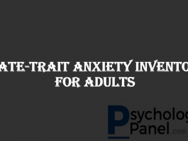 State-Trait Anxiety Inventory For Adults