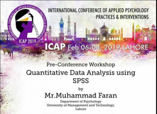 Workshop on Quantitative Data Analysis using SPSS